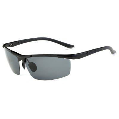 Buy BLACK+GREY TOMYE 8530 Sports Polarized Lens for Men and Women High-Definition Outdoor Cycling Sunglasses for $17.74 in GearBest store