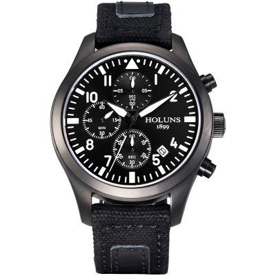 HOLUNS 4604 Casual Luminous Small Dial Male Watch
