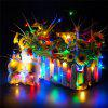 2M 20-LED Lights Battery Powered Copper Wire String Lights for Christmas Festival Wedding Party Home Decoration - COLORFUL