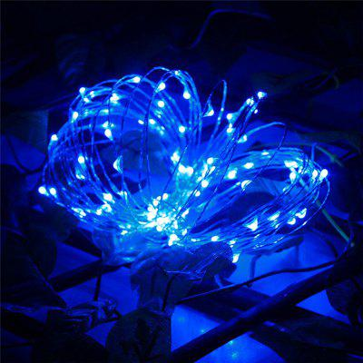 AY - hq215 10M 100 LED Copper String Lights for Christmas Decoration