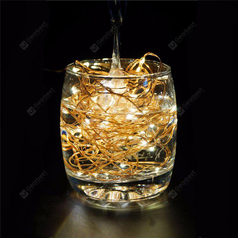 AY - hq218 5M 50 LED Copper String Lights with USB Cable for Party