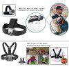 Accessories Kit Chest Strap + Floating Mount + Wrist Strap + Car Suction Cup for Gopro Hero 5 / 4 / 3 + 2 / 1 Wifi Underwater Camera - BLACK