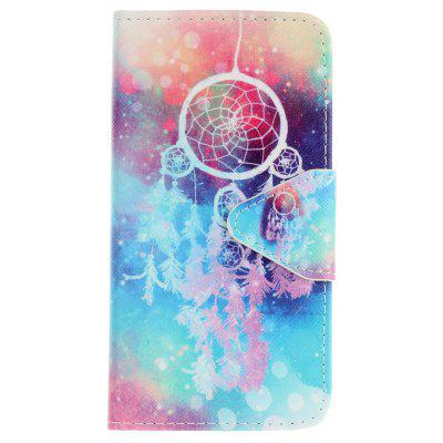 Triangle Button Painted PU Phone Case for Samsung Galaxy A3 2016
