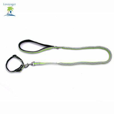 Lovoyager LVHA165164 Reflective Fluorescent Pet Dog Adjustable Collar Leash Soft Elastic Leashes For Running Jogging WalkingDog Carriers<br>Lovoyager LVHA165164 Reflective Fluorescent Pet Dog Adjustable Collar Leash Soft Elastic Leashes For Running Jogging Walking<br><br>Color: Green,Orange<br>For: Dogs<br>Functions: Adjustable<br>item: Pet Collar +Pet Leashes<br>Material: Nylon<br>Package Contents: 1 x Pet Collar ,1 x Pet Leashes<br>Package size (L x W x H): 35.00 x 20.00 x 5.00 cm / 13.78 x 7.87 x 1.97 inches<br>Package weight: 0.1600 kg<br>Season: All seasons<br>Size: Others<br>Type: Others