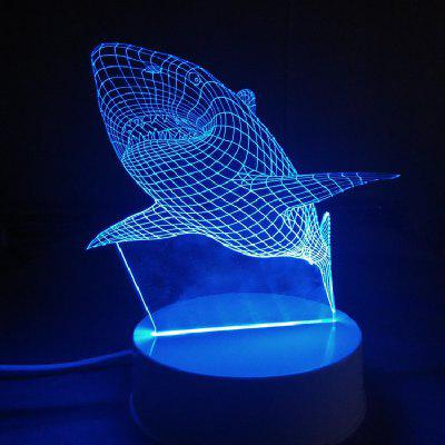 Dolphin Night Light Touch 3D LED Table Desk Lamp3D Lamps<br>Dolphin Night Light Touch 3D LED Table Desk Lamp<br><br>Battery Quantity: 1<br>Color Temperature or Wavelength: RGB<br>Connector Type: USB<br>Features: Remote Controlled<br>Light Source Color: Multi Color,Remote control 7-Color,RGB<br>Light Type: Decoration Light,Indoor Light,LED,LED Night Light,LED Shower Heads,Night Light,Table Lamp,USB Lights<br>Mini Voltage: 5V<br>Package Contents: 1 x Lampholder, 1 x Acrylic Glass Panel, 1 x 4 Key Remote Control, 1 x Switch Usb Power Cord ( 1.3m )<br>Package size (L x W x H): 25.00 x 17.00 x 7.00 cm / 9.84 x 6.69 x 2.76 inches<br>Package weight: 0.3700 kg<br>Power Source: USB charging<br>Product size (L x W x H): 20.00 x 15.00 x 9.00 cm / 7.87 x 5.91 x 3.54 inches<br>Product weight: 0.3100 kg<br>Quantity: 1<br>Style: Artistic Style<br>Wattage: Other