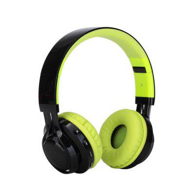 Kanen Ab-005 Led Light Foldable Stereo Headsets Wireless Bluetooth Headphone with Mic