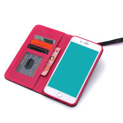 Mixed Color Stitching Pattern PU Leather Wallet Case with Card Slots Lanyard for iPhone 7 / 8iPhone Cases/Covers<br>Mixed Color Stitching Pattern PU Leather Wallet Case with Card Slots Lanyard for iPhone 7 / 8<br><br>Compatible for Apple: iPhone 7, iPhone 8<br>Features: Cases with Stand, With Credit Card Holder, With Lanyard<br>Material: TPU, PU Leather<br>Package Contents: 1 x Phone Case<br>Package size (L x W x H): 20.00 x 15.00 x 3.00 cm / 7.87 x 5.91 x 1.18 inches<br>Package weight: 0.1500 kg<br>Style: Novelty, Vintage