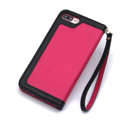 Mix and Match Style PU Leather Flip Stand Case for iPhone 7 Plus / 8 PlusiPhone Cases/Covers<br>Mix and Match Style PU Leather Flip Stand Case for iPhone 7 Plus / 8 Plus<br><br>Compatible for Apple: iPhone 7 Plus, iPhone 8 Plus<br>Features: Cases with Stand, With Credit Card Holder, With Lanyard<br>Material: TPU, PU<br>Package Contents: 1 x Phone Case<br>Package size (L x W x H): 30.00 x 15.00 x 3.00 cm / 11.81 x 5.91 x 1.18 inches<br>Package weight: 0.1500 kg<br>Style: Leather, Mixed Color