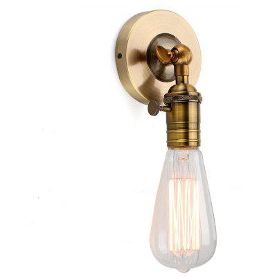 Brightness Minimalist Single Socket Wall Sconce Lighting with On/Off Switch