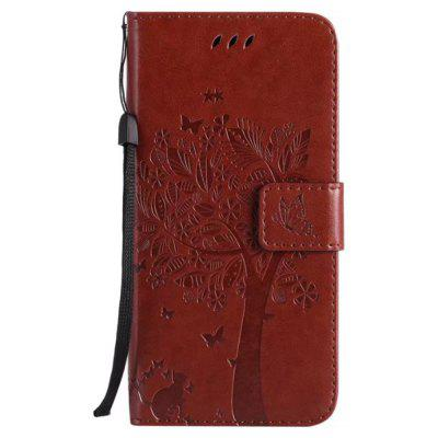 Wkae Retro Style Cat and Tree Embossed Pattern Leather Case Cover with Card Slots Lanyard for iPhone XiPhone Cases/Covers<br>Wkae Retro Style Cat and Tree Embossed Pattern Leather Case Cover with Card Slots Lanyard for iPhone X<br><br>Compatible for Apple: iPhone X<br>Features: Cases with Stand, With Credit Card Holder, Anti-knock, Dirt-resistant, FullBody Cases<br>Material: TPU, PU Leather<br>Package Contents: 1 x Phone Case<br>Package size (L x W x H): 20.00 x 15.00 x 2.00 cm / 7.87 x 5.91 x 0.79 inches<br>Package weight: 0.1000 kg<br>Style: Novelty