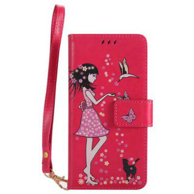 Wkae Retro Style Luminous Effect Embossed Fairy Girl Leather Case with Card Slots Lanyard for iPhone XiPhone Cases/Covers<br>Wkae Retro Style Luminous Effect Embossed Fairy Girl Leather Case with Card Slots Lanyard for iPhone X<br><br>Compatible for Apple: iPhone X<br>Features: Cases with Stand, With Credit Card Holder, Anti-knock, Dirt-resistant, FullBody Cases<br>Material: TPU, PU Leather<br>Package Contents: 1 x Phone Case<br>Package size (L x W x H): 20.00 x 15.00 x 2.00 cm / 7.87 x 5.91 x 0.79 inches<br>Package weight: 0.1000 kg<br>Style: Novelty