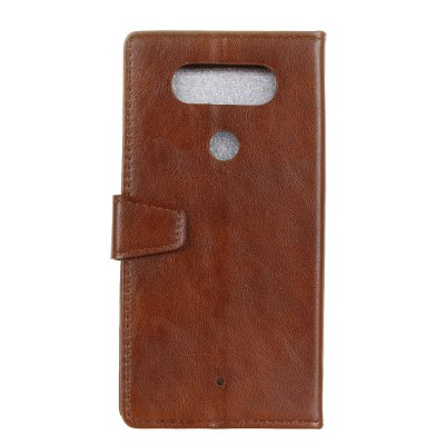 Wkae Crazy Horse Texture Leather Case Horizontal Flip Stand Case with Card Slots for LG Q8 / V20 MiniCases &amp; Leather<br>Wkae Crazy Horse Texture Leather Case Horizontal Flip Stand Case with Card Slots for LG Q8 / V20 Mini<br><br>Compatible Model: LG Q8 / V20 Mini<br>Features: Dirt-resistant, Full Body Cases, Cases with Stand, With Credit Card Holder, Anti-knock<br>Mainly Compatible with: LG<br>Material: PU Leather, TPU<br>Package Contents: 1 x Phone Case<br>Package size (L x W x H): 20.00 x 15.00 x 2.00 cm / 7.87 x 5.91 x 0.79 inches<br>Package weight: 0.1000 kg<br>Style: Vintage
