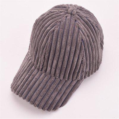 Autumn and Winter Corduroy Baseball Cap Men and Women Fashion Cap Warm Fashion