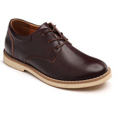 Buy BROWN 38 Shoes for Men Business Leather Shoes Men'S Office Shoes Casual Leather Shoes for $44.48 in GearBest store