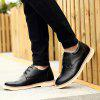 Shoes for Men Business Leather Shoes Men'S Office Shoes Casual Leather Shoes - BLACK