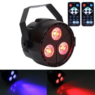 Buy BLACK U`King 15W 3 Led Par Light Rgb Purple Mixing Stage Effect Light with 2 Remote Control for $23.65 in GearBest store