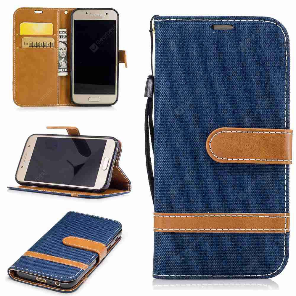 Mix Color Jeans Phone Case for Samsung Galaxy J3 2016 / J3 2015