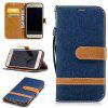 Mix Color Jeans Phone Case for Samsung Galaxy S7  Edge - PURPLISH BLUE