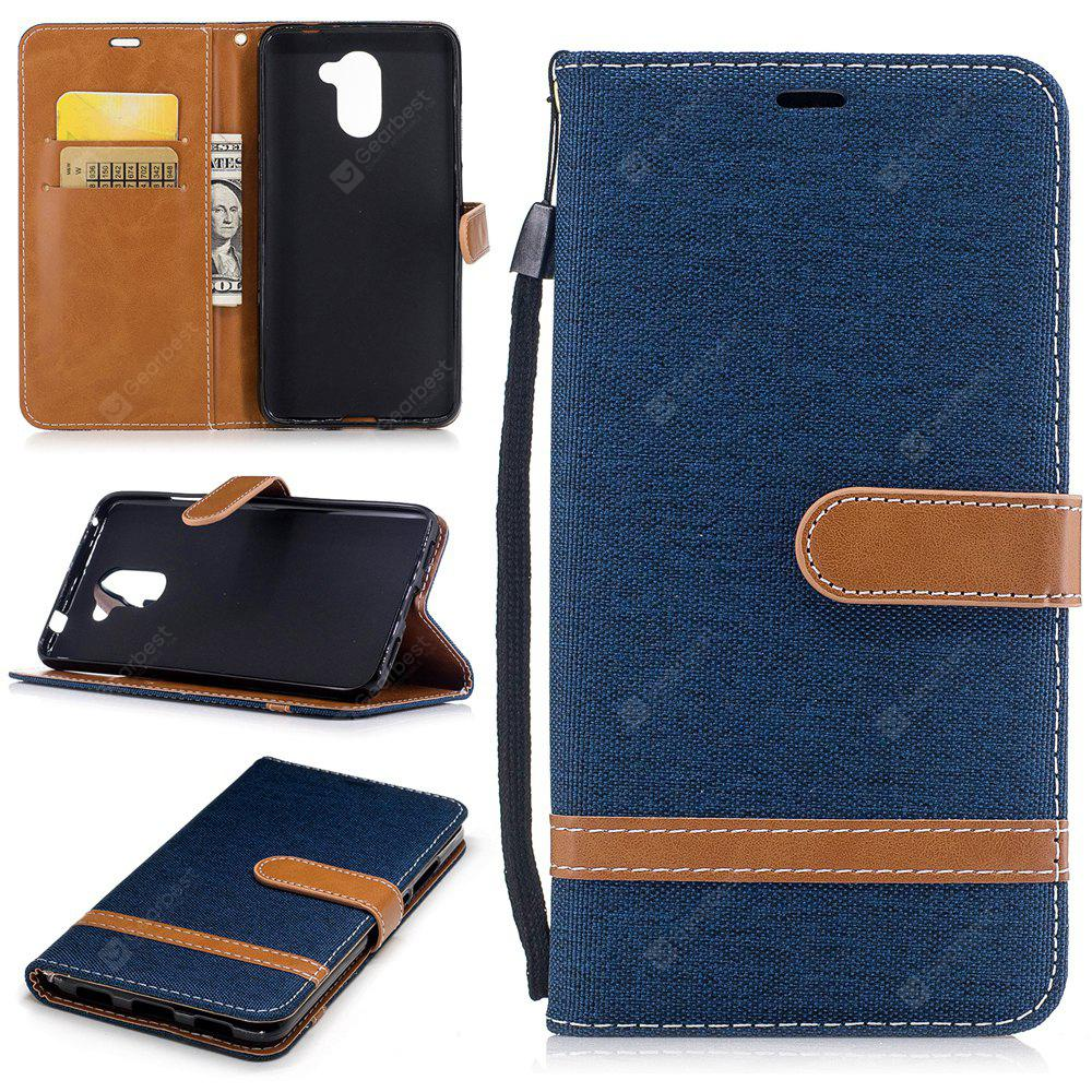 Mix Color Jeans Phone Case for Huawei Y7
