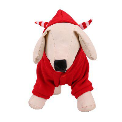 Lovoyager LVC1703 Dog Halloween Costumes CoatDog Clothing &amp; Shoes<br>Lovoyager LVC1703 Dog Halloween Costumes Coat<br><br>Color: Red<br>Fit: Teddy Dog,ChiHuaHua Small Cats Small Dog<br>For: Dogs<br>Functions: Others<br>item: Dog Halloween costumes<br>Material: Cotton<br>Occasion: Hallowmas/Outdoor/Travel/Sport/Casual shoes for dog<br>Package Contents: 1 x Dog Halloween Costumes<br>Package size (L x W x H): 30.00 x 20.00 x 3.00 cm / 11.81 x 7.87 x 1.18 inches<br>Package weight: 0.1200 kg<br>Season: Spring, Winter, Autumn<br>Size: Others<br>Type: Others