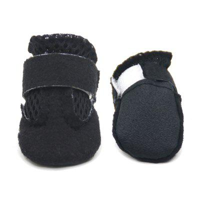 Lovoyager VSS17001 4PCS/SET Non-Slip Pet Teddy Puppy Dog Cats Casual Walking ShoesDog Clothing &amp; Shoes<br>Lovoyager VSS17001 4PCS/SET Non-Slip Pet Teddy Puppy Dog Cats Casual Walking Shoes<br><br>Color: Others<br>For: Dogs<br>Functions: Adjustable<br>item: dog shoes<br>Material: Polyester<br>Occasion: Outdoor/Home/Sport/Running<br>Package Contents: 4 x dog shoes<br>Package size (L x W x H): 6.00 x 5.00 x 2.00 cm / 2.36 x 1.97 x 0.79 inches<br>Package weight: 0.0700 kg<br>Season: All seasons<br>Size: Others<br>Type: Shoes