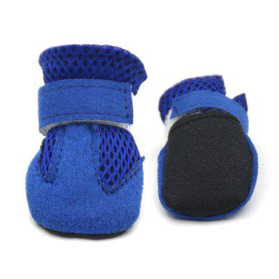 Lovoyager VSS17001 4PCS/SET Non-Slip Pet Teddy Puppy Dog Cats Casual Walking ShoesDog Clothing &amp; Shoes<br>Lovoyager VSS17001 4PCS/SET Non-Slip Pet Teddy Puppy Dog Cats Casual Walking Shoes<br><br>Color: Others<br>For: Dogs<br>Functions: Adjustable<br>item: dog shoes<br>Material: Polyester<br>Occasion: Outdoor/Home/Sport/Running<br>Package Contents: 4 x dog shoes<br>Package size (L x W x H): 6.00 x 5.00 x 2.00 cm / 2.36 x 1.97 x 0.79 inches<br>Package weight: 0.0600 kg<br>Season: All seasons<br>Size: Others<br>Type: Shoes