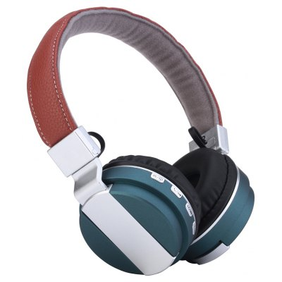 Kanen Bt-008 Wireless Bluetooth Headsets Headphone Foldable with Mic Tf Card Slot for Iphone And Smart Phones