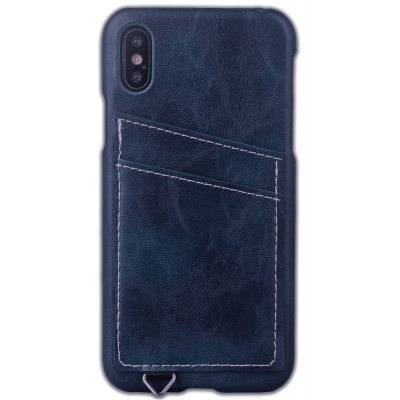 Cover con Texture Cavallo Pazzo con Slot 2 per Carte per iPhone X
