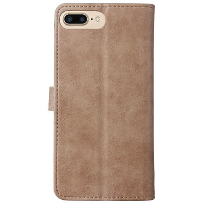 Premium  Quality Well Felt Leather Case with Rivet Buckle for iPhone 7 Plus / 8 PlusiPhone Cases/Covers<br>Premium  Quality Well Felt Leather Case with Rivet Buckle for iPhone 7 Plus / 8 Plus<br><br>Compatible for Apple: iPhone 7 Plus, iPhone 8 Plus<br>Features: Cases with Stand, With Credit Card Holder<br>Material: PU Leather, TPU<br>Package Contents: 1 x Phone Case<br>Package size (L x W x H): 18.00 x 11.00 x 3.00 cm / 7.09 x 4.33 x 1.18 inches<br>Package weight: 0.1500 kg<br>Product weight: 0.1000 kg<br>Style: Solid Color, Retro
