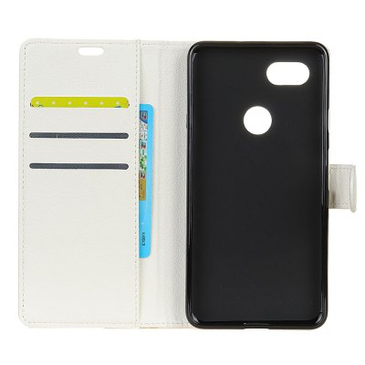 Wkae Litchi Texture PU Leather Folio Stand Wallet Case Cover with Card Slots for Google PIXEL 2 XLCases &amp; Leather<br>Wkae Litchi Texture PU Leather Folio Stand Wallet Case Cover with Card Slots for Google PIXEL 2 XL<br><br>Compatible Model: Google PIXEL 2 XL<br>Features: Full Body Cases, Cases with Stand, With Credit Card Holder, Anti-knock, Dirt-resistant<br>Material: TPU, PU Leather<br>Package Contents: 1 x Phone Case<br>Package size (L x W x H): 20.00 x 15.00 x 2.00 cm / 7.87 x 5.91 x 0.79 inches<br>Package weight: 0.1000 kg<br>Style: Vintage
