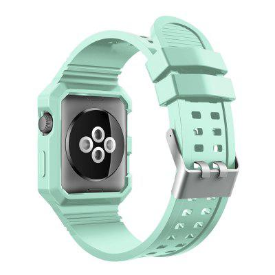 TPU Rugged Protective Case with Strap Bands for Apple Watch Series 1 / 2 Edition 42 MmApple Watch Bands<br>TPU Rugged Protective Case with Strap Bands for Apple Watch Series 1 / 2 Edition 42 Mm<br><br>Function: for Apple Watch Series 1 2015 Series 2 2016 Edition 42 Mm<br>Material: TPU<br>Package Contents: 1 x Watch Band<br>Package size: 8.70 x 8.70 x 4.60 cm / 3.43 x 3.43 x 1.81 inches<br>Package weight: 0.0400 kg