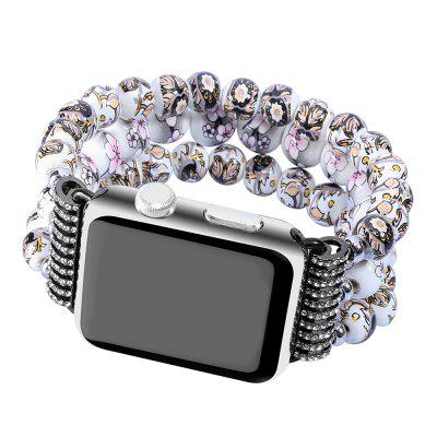 Fashion Handmade Elastic Stretch Faux Pearl Natural Stone Bracelet Replacement Women Girls for Apple Watch Series 2 / 1 All Version 42MMApple Watch Bands<br>Fashion Handmade Elastic Stretch Faux Pearl Natural Stone Bracelet Replacement Women Girls for Apple Watch Series 2 / 1 All Version 42MM<br><br>Function: for Apple Watch Series 1 2015 Series 2 2016 Edition 42 Mm<br>Material: TPU<br>Package Contents: 1 x Watch Band<br>Package size: 8.70 x 8.70 x 4.60 cm / 3.43 x 3.43 x 1.81 inches<br>Package weight: 0.0400 kg