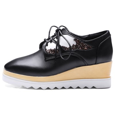 Womens High Heeled Pumps Stylish Solid Cosy Wedge ShoesWomens Casual Shoes<br>Womens High Heeled Pumps Stylish Solid Cosy Wedge Shoes<br><br>Available Size: 34,35,36,37,38,39<br>Closure Type: Lace-Up<br>Embellishment: Bowknot<br>Gender: For Women<br>Outsole Material: Rubber<br>Package Contents: 1 x Shoes<br>Pattern Type: Animal Prints<br>Season: Summer, Winter, Spring/Fall<br>Toe Shape: Square Toe<br>Toe Style: Closed Toe<br>Upper Material: PU<br>Weight: 1.6588kg
