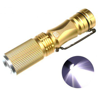 YWXLight XPE-Q5 LED 200LM 3 Modes Telescopic Zoom Ultra Bright Neutral White Light Mini Flashlight