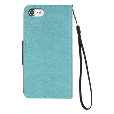 Hit Color PU Phone Case for iPhone 8 / 7iPhone Cases/Covers<br>Hit Color PU Phone Case for iPhone 8 / 7<br><br>Compatible for Apple: iPhone 7, iPhone 8<br>Features: Wallet Case, Dirt-resistant, With Lanyard, With Credit Card Holder, Cases with Stand<br>Material: PU Leather, TPU<br>Package Contents: 1 x Phone Case<br>Package size (L x W x H): 14.00 x 7.00 x 1.00 cm / 5.51 x 2.76 x 0.39 inches<br>Package weight: 0.0570 kg<br>Style: Novelty