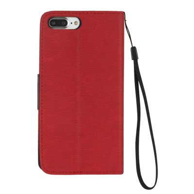 Hit Color PU Phone Case for iPhone 8 Plus / 7 PlusiPhone Cases/Covers<br>Hit Color PU Phone Case for iPhone 8 Plus / 7 Plus<br><br>Compatible for Apple: iPhone 7 Plus, iPhone 8 Plus<br>Features: Wallet Case, Dirt-resistant, With Lanyard, With Credit Card Holder, Cases with Stand<br>Material: PU Leather, TPU<br>Package Contents: 1 x Phone Case<br>Package size (L x W x H): 15.80 x 7.80 x 1.00 cm / 6.22 x 3.07 x 0.39 inches<br>Package weight: 0.0730 kg<br>Style: Novelty