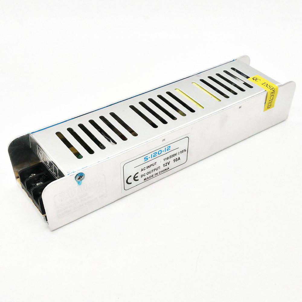 ZDM 12V 8.5A / 10A  100 - 120W Constant Voltage AC / DC Switching Power Supply Converter ( 110 - 220V to 12V )