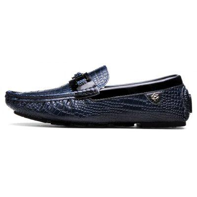 2017 Summer and Autumn New Pants Shoes Male Leather Glossy Leather Crocodile Pattern Korean Version of The Hair Stylist Sets of Feet Driving ShoesMen's Oxford<br>2017 Summer and Autumn New Pants Shoes Male Leather Glossy Leather Crocodile Pattern Korean Version of The Hair Stylist Sets of Feet Driving Shoes<br><br>Available Size: 39-44<br>Closure Type: Slip-On<br>Flat Type: Mary Janes<br>Gender: For Men<br>Occasion: Office &amp; Career<br>Package Contents: 1 x Pair of Shoes<br>Package size (L x W x H): 30.00 x 20.00 x 10.00 cm / 11.81 x 7.87 x 3.94 inches<br>Package weight: 0.8000 kg<br>Pattern Type: Solid<br>Season: Summer, Spring/Fall<br>Toe Shape: Round Toe<br>Toe Style: Closed Toe<br>Upper Material: Microfiber