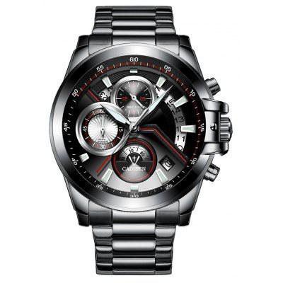 C9016 Quartz Fashion Sports Stainless Steel Male Watch