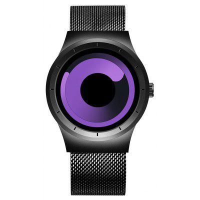 Buy BLACK AND PURPLE Skone 7432 1081 Sports Quartz Movement Male Watch for $23.05 in GearBest store