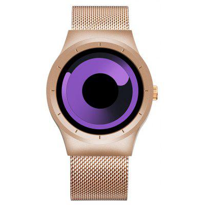 Buy PURPLE Skone 7432 1081 Sports Quartz Movement Male Watch for $23.05 in GearBest store