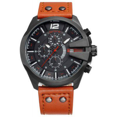 Skone 7428EG01 3827 Trendy Calendar Display Montre Homme