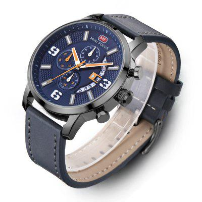 MINI FOCUS MF0025G 4296 Classic Leather Band Male WatchMens Watches<br>MINI FOCUS MF0025G 4296 Classic Leather Band Male Watch<br><br>Band material: Leather<br>Band size: 21 x 2.2cm<br>Brand: MINI FOCUS<br>Case material: Alloy<br>Clasp type: Pin buckle<br>Dial size: 4.8 x 4.8 x 1.27cm<br>Display type: Analog-Digital<br>Movement type: Quartz watch<br>Package Contents: 1 x Watch, 1 x Watch Box<br>Package size (L x W x H): 28.00 x 8.00 x 3.50 cm / 11.02 x 3.15 x 1.38 inches<br>Package weight: 0.0950 kg<br>Product size (L x W x H): 21.00 x 4.80 x 1.27 cm / 8.27 x 1.89 x 0.5 inches<br>Product weight: 0.0650 kg<br>Shape of the dial: Round<br>Watch mirror: Mineral glass<br>Watch style: Fashion, Trends in outdoor sports, Casual<br>Watches categories: Men<br>Water resistance: 30 meters