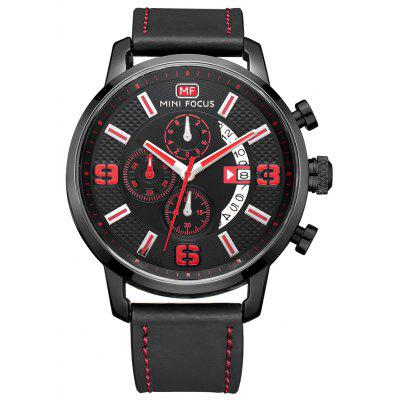 MINI FOCUS MF0025G 4296 Klasik Deri Bantlı Erkek Watch