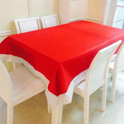 AY - hq237 Christmas Decoration Red Tablecloth Table Cover