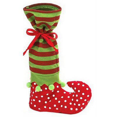 AY - hq245 Christmas Decoration Wizard Sock Candy Bag Gift