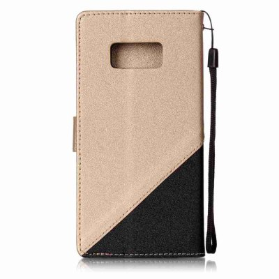 Stitching Style Golden Beach Pu Phone Case Forsamsung Galaxy Galaxy S8 PlusSamsung S Series<br>Stitching Style Golden Beach Pu Phone Case Forsamsung Galaxy Galaxy S8 Plus<br><br>Compatible with: Samsung Galaxy S8 Plus<br>Features: Full Body Cases, Cases with Stand, With Credit Card Holder, With Lanyard, Dirt-resistant<br>For: Samsung Mobile Phone<br>Functions: Camera Hole Location<br>Material: TPU, PU Leather<br>Package Contents: 1 x Phone Case<br>Package size (L x W x H): 15.20 x 7.20 x 1.40 cm / 5.98 x 2.83 x 0.55 inches<br>Package weight: 0.0680 kg<br>Style: Novelty, Solid Color<br>Using Conditions: Skiing,Cruise