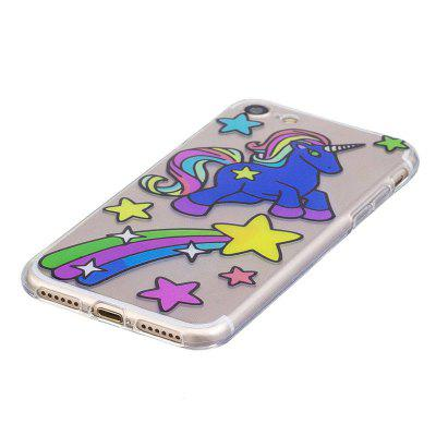 TPU Material Unicorn Pattern Painted Phone Case For IPhone 7iPhone Cases/Covers<br>TPU Material Unicorn Pattern Painted Phone Case For IPhone 7<br><br>Color: Assorted Colors<br>Compatible for Apple: iPhone 7<br>Features: Back Cover<br>Material: TPU<br>Package Contents: 1 x Phone Case<br>Package size (L x W x H): 14.50 x 7.50 x 1.10 cm / 5.71 x 2.95 x 0.43 inches<br>Package weight: 0.0200 kg<br>Product size (L x W x H): 14.00 x 7.00 x 1.00 cm / 5.51 x 2.76 x 0.39 inches<br>Product weight: 0.0180 kg<br>Style: Pattern