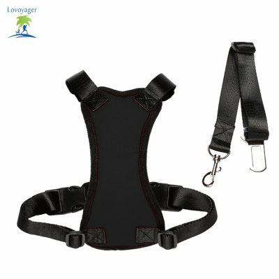 Lovoyager Lvhb15007 Safety Dog Harness for DogDog Carriers<br>Lovoyager Lvhb15007 Safety Dog Harness for Dog<br><br>Color: Black,Red<br>For: Dogs<br>Functional: used in the car for dog safety<br>Material: Nylon, Polyester, Sponge<br>Package Contents: 1 x Dog Harness<br>Package size (L x W x H): 18.00 x 9.00 x 2.00 cm / 7.09 x 3.54 x 0.79 inches<br>Package weight: 0.0900 kg<br>Season: Summer, Winter, All seasons, Spring