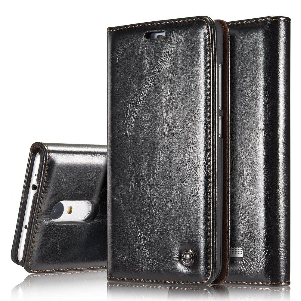 CaseMe Premium Quality Magnetic PU Leather Wallet Stand Case for Xiaomi Redmi Note 3